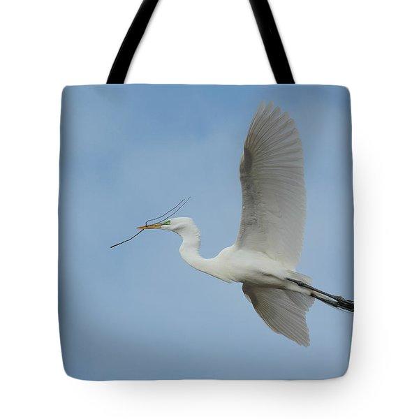 Flight Path Tote Bag by Fraida Gutovich