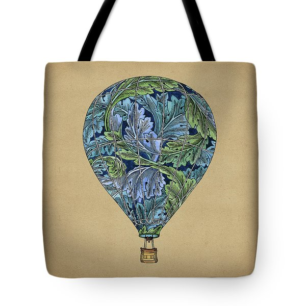 Tote Bag featuring the painting Flight Pattern by Meg Shearer