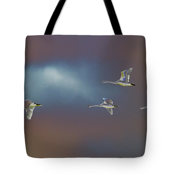 Flight Tote Bag by Richard Patmore