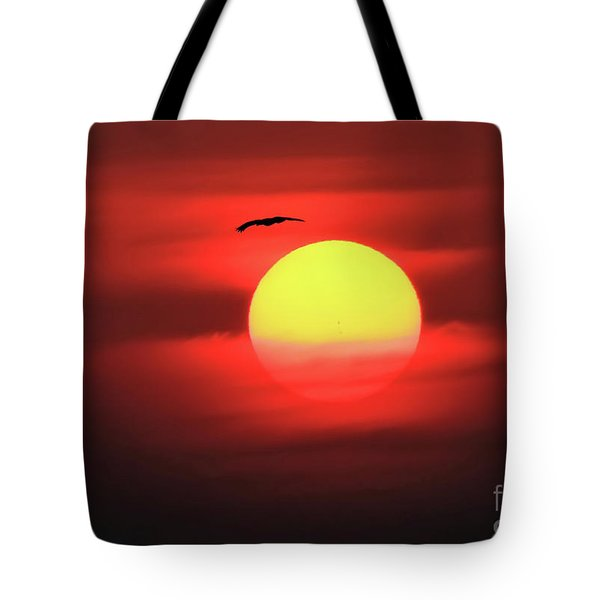 Flight To The Sun Tote Bag