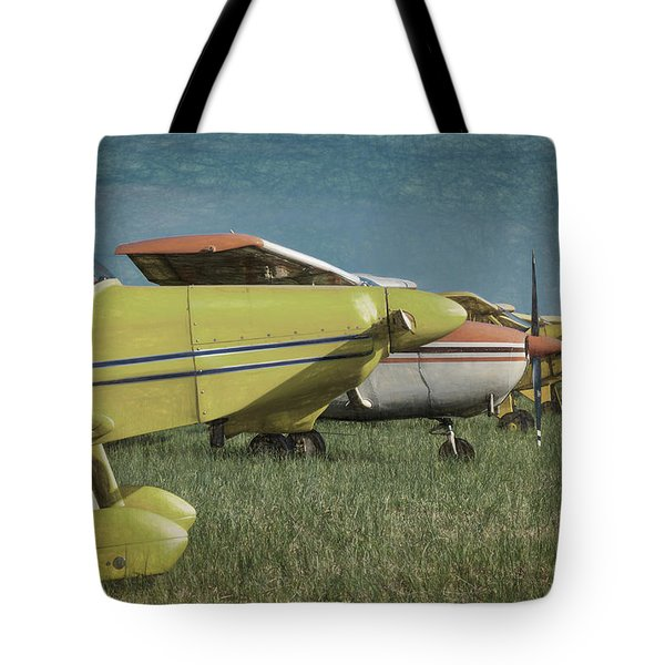 Tote Bag featuring the photograph Flightline by James Barber