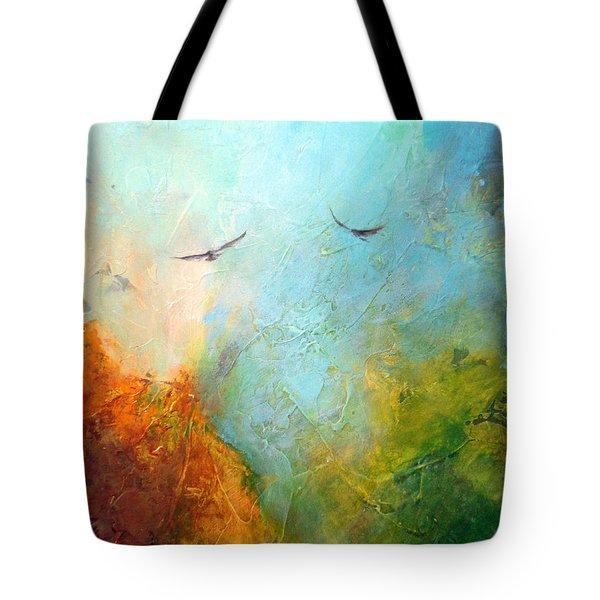 Flights Of Fancy Tote Bag by Dina Dargo