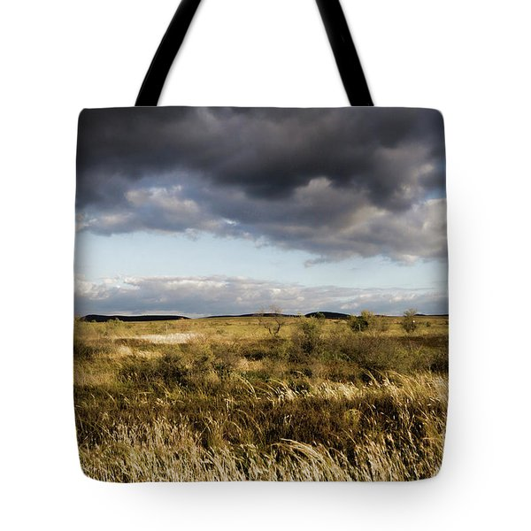 Tote Bag featuring the photograph Flinders Ranges Fields V3 by Douglas Barnard