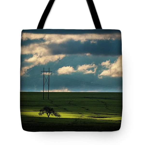 Tote Bag featuring the photograph Flint Hills Power 2 by Jeff Phillippi
