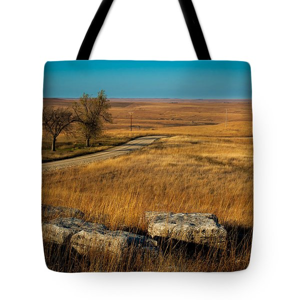 Flint Hills Two Trees Tote Bag