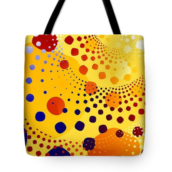 Tote Bag featuring the digital art Flint Stones by Fran Riley