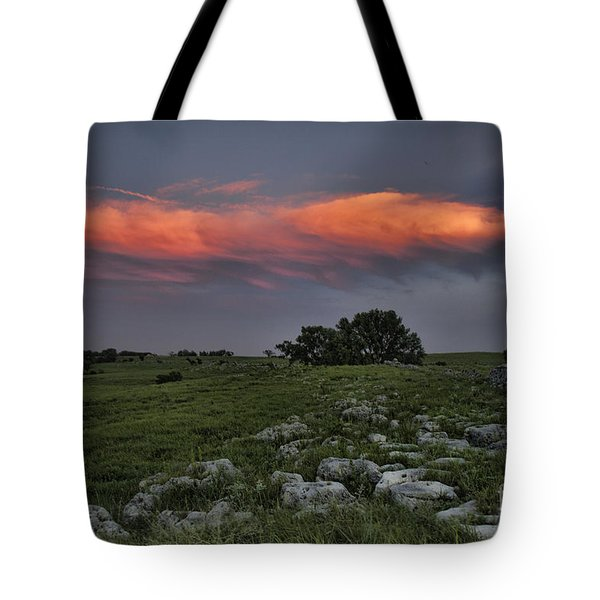 Flinthills Sunset Tote Bag