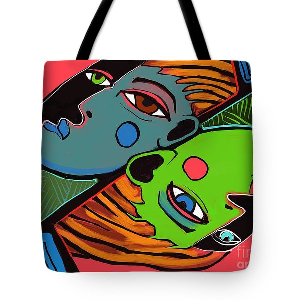 Flip Side Tote Bag
