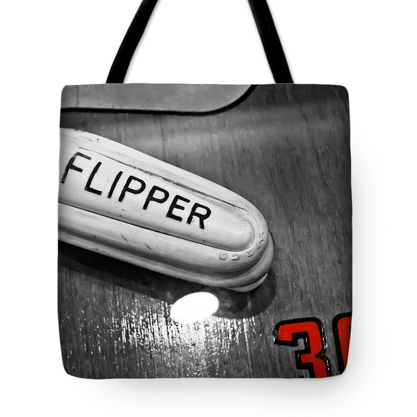 Flipper 30 - Pinball  Tote Bag