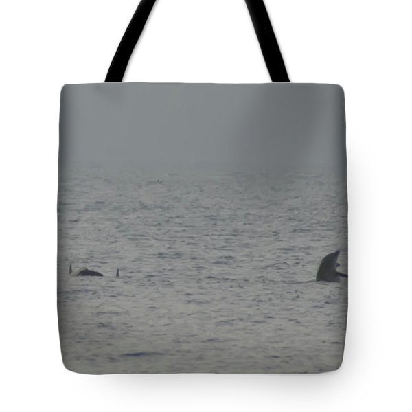 Flipper Tote Bag by Bill Cannon