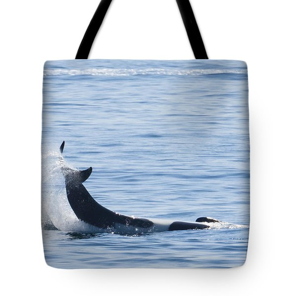 Flipping Off Tote Bag by Harold Piskiel