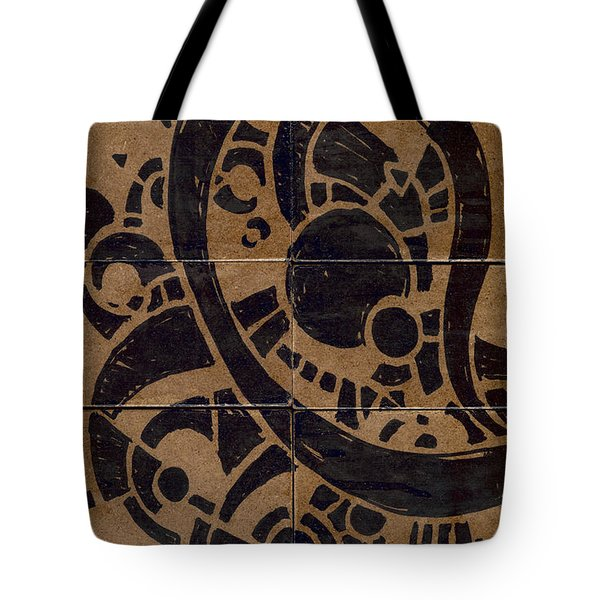Flipside 1 Panel A Tote Bag by Joseph A Langley