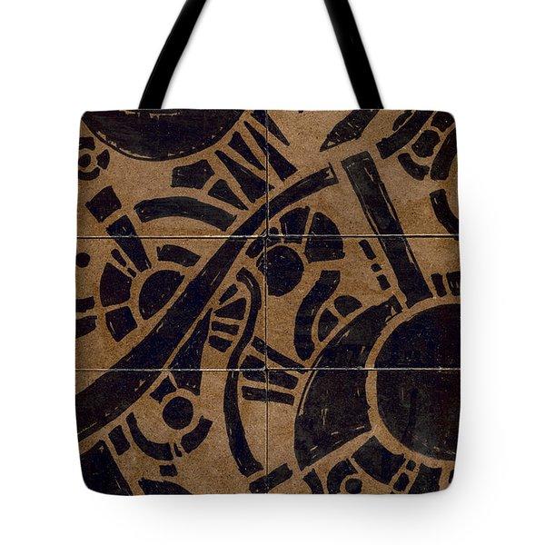Flipside 1 Panel B Tote Bag