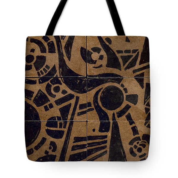 Flipside 1 Panel C Tote Bag by Joseph A Langley
