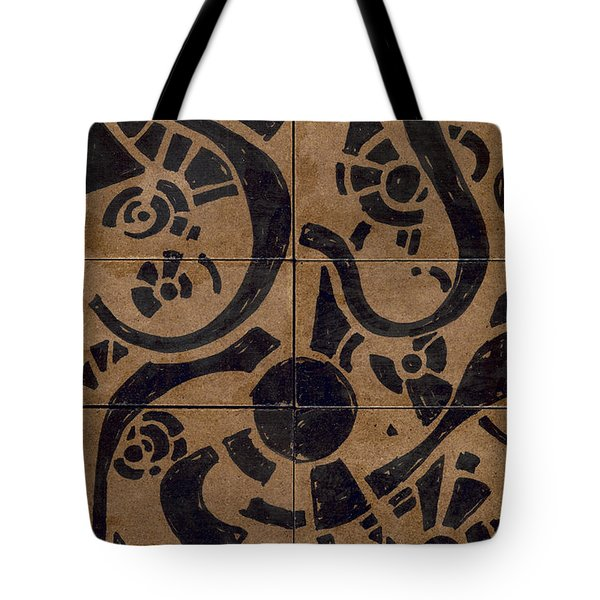 Flipside 1 Panel D Tote Bag by Joseph A Langley