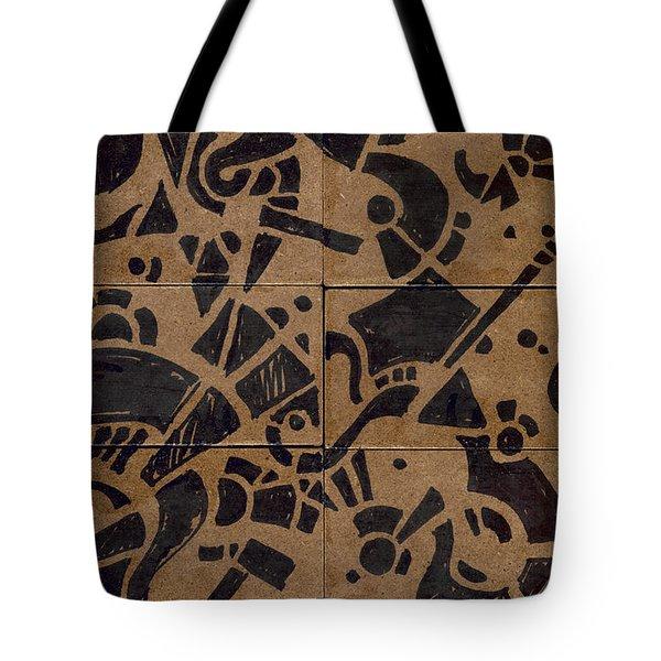 Flipside 1 Panel E Tote Bag