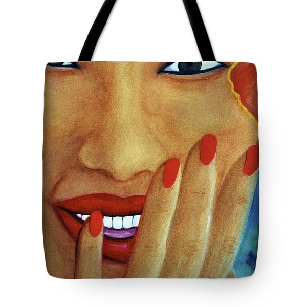 Flirtation #168 Tote Bag by Donald k Hall