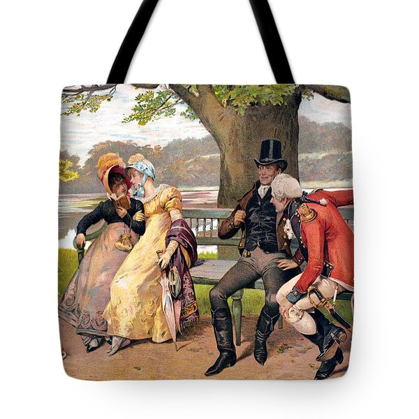 Flirtation, C1810 Tote Bag by Granger