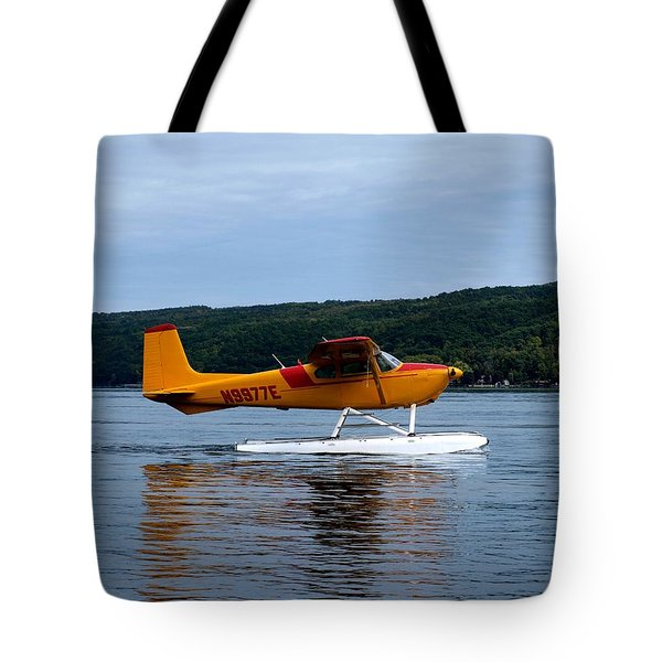 Float Plane Two Tote Bag