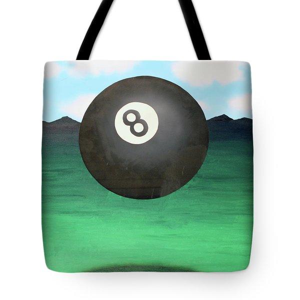 Floating 8 Tote Bag