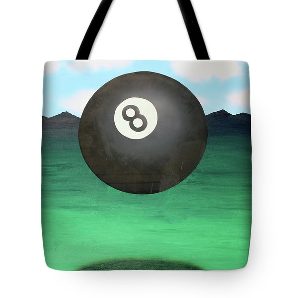 Tote Bag featuring the painting Floating 8 by Thomas Blood