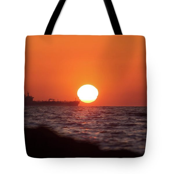 Floating Around The Sun Tote Bag