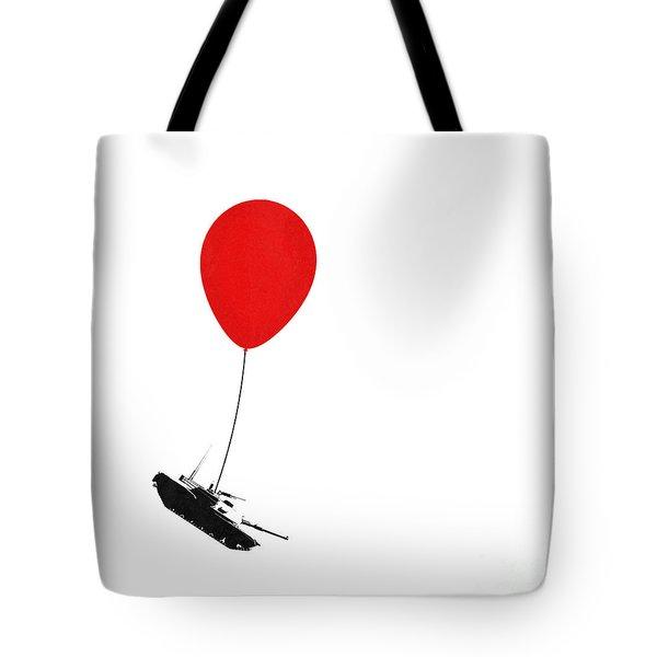 Floating Away  Tote Bag by Pixel Chimp