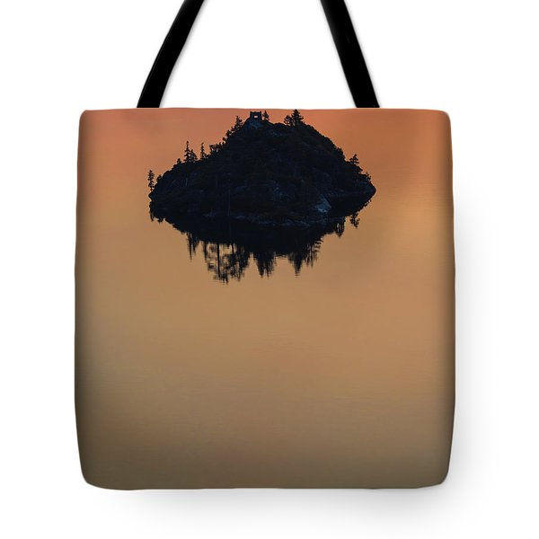 Floating Castle Tote Bag