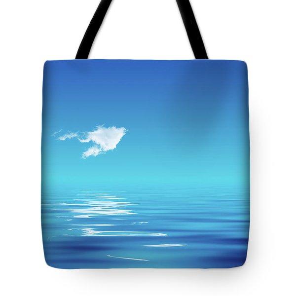 Floating Cloud Tote Bag