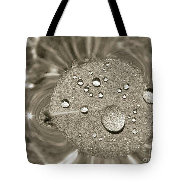Floating Droplets Tote Bag