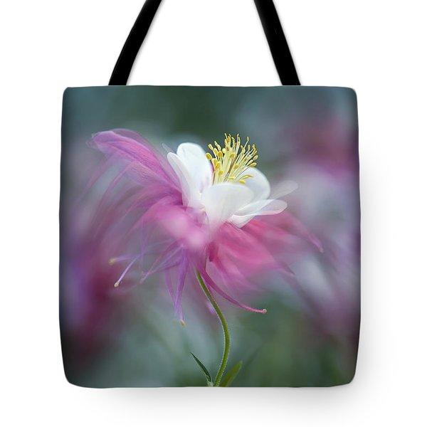 Floating Floral Tote Bag