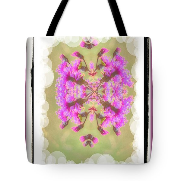 Floating Flowers Tote Bag by Shirley Moravec