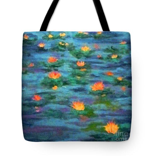 Floating Gems Tote Bag
