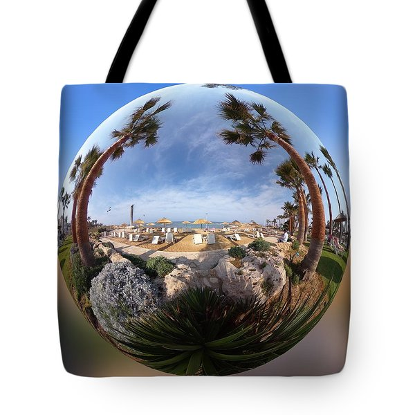 Floating Globe  Tote Bag