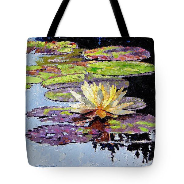 Floating Gold Tote Bag by John Lautermilch