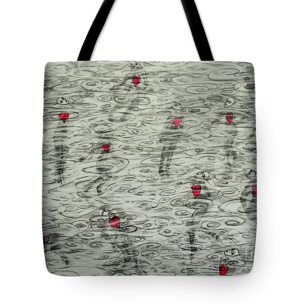 Floating Hearts #10 Tote Bag