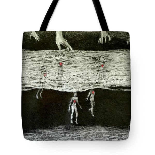 Floating Hearts #4 Tote Bag