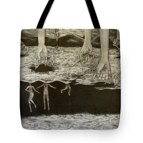 Floating Hearts #6 Tote Bag