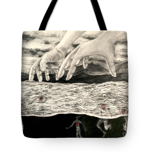 Floating Hearts #7 Tote Bag
