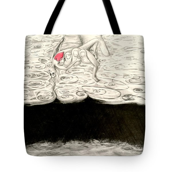 Floating Hearts #9 Tote Bag