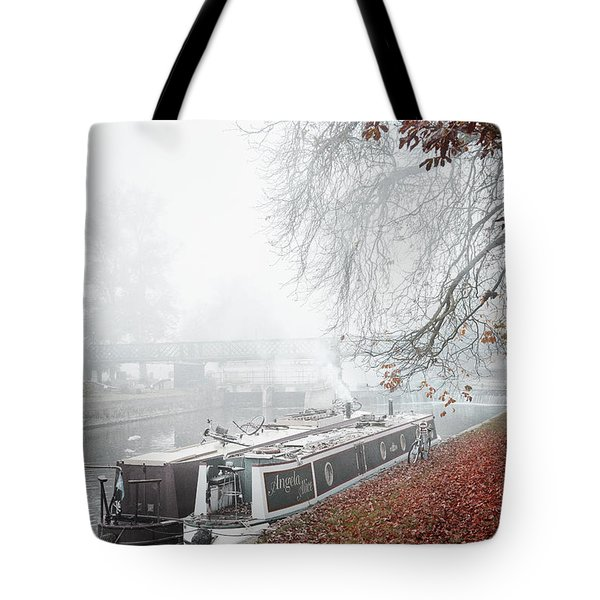 Floating Homes Of  River Cam Tote Bag by Eden Baed