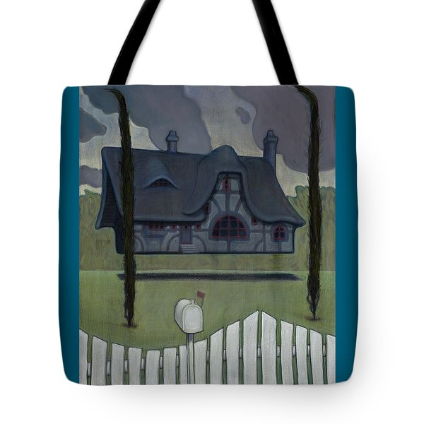Floating House Tote Bag