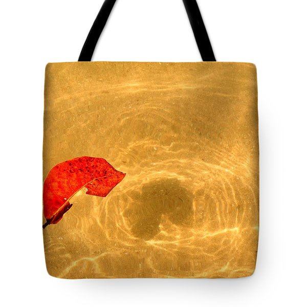 Floating In Gold Tote Bag