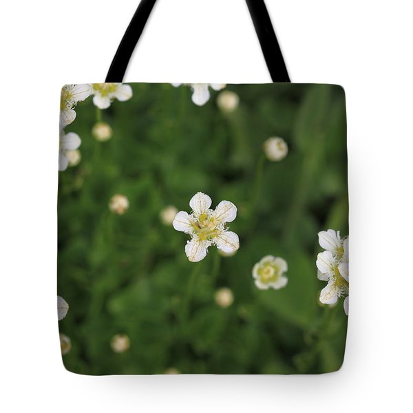 Tote Bag featuring the photograph Floating In Green by Shari Jardina