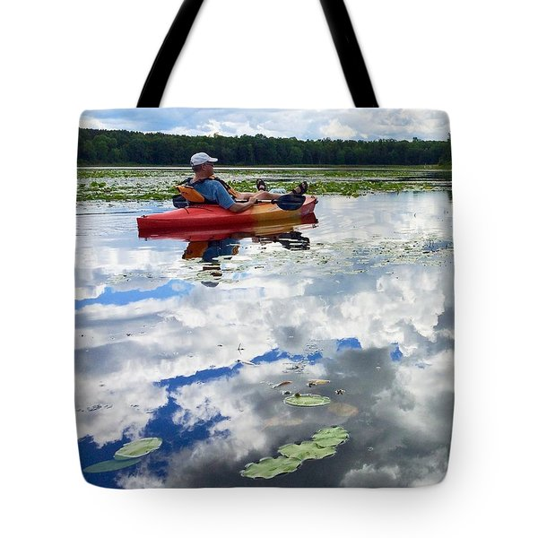 Floating In The Sky Tote Bag