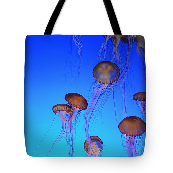 Floating Jellyfish Ballet Tote Bag