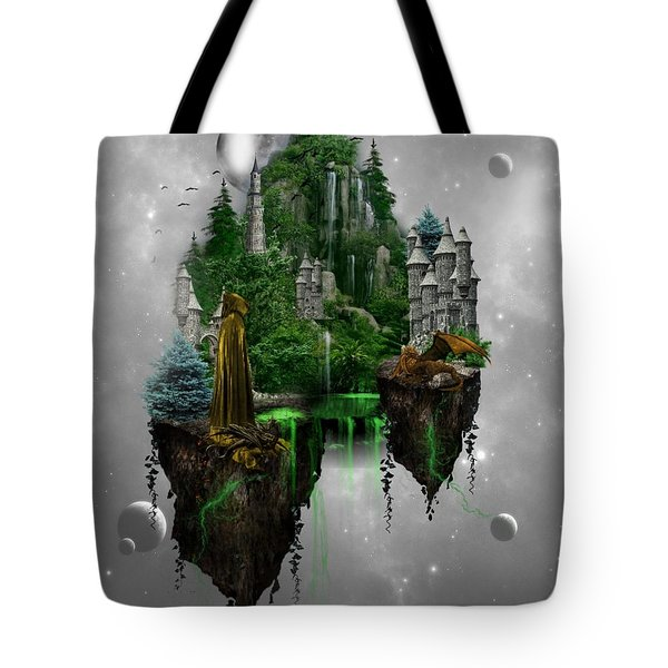 Floating Kingdom Tote Bag by Ali Oppy