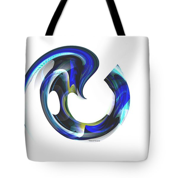 Floating Life Tote Bag by Thibault Toussaint