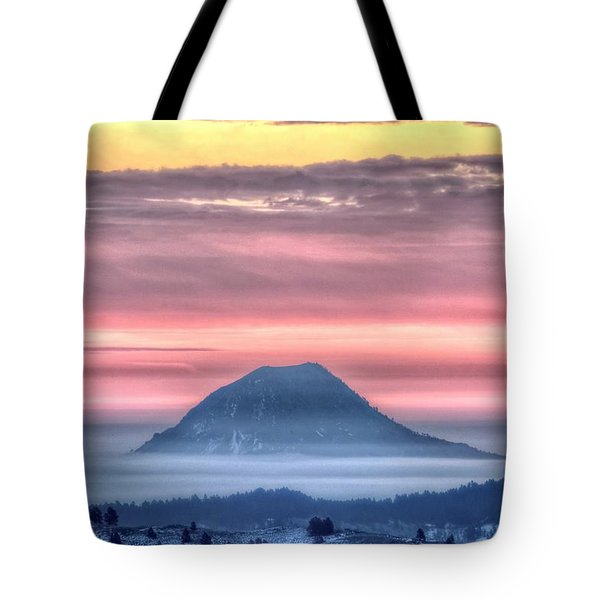 Floating Mountain Tote Bag