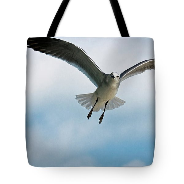 Floating On Air Tote Bag by Christopher Holmes
